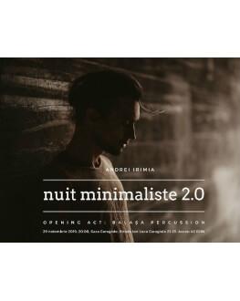 Andrei Irimia - Nuit Minimaliste 2.0