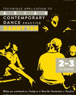 Asian Contemporary Dance Practice cu Danny Tan