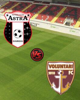 Astra Giurgiu - FC Voluntari Etapa 16