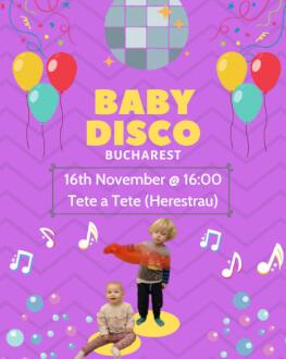 Baby Disco! Pentru părinți și copii 0-5 ani în limba engleză