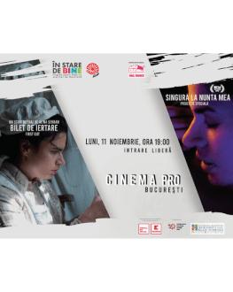 Proiecție - eveniment - Bilet de Iertare, scurtmetraj de Alina Șerban & Singură la nunta mea