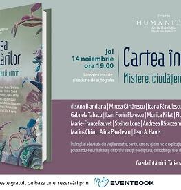 """""""Cartea întâmplărilor. Mistere, ciudățenii, uimiri"""", un nou volum colectiv, la Humanitas lansare și sesiune de autografe – joi, 14 noiembrie, ora 19, la Librăria Humanitas de la Cișmigiu"""