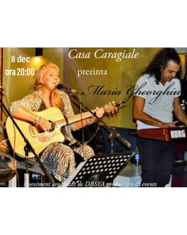 """Concert """"Maria Gheorghiu- Pe la case luminate''"""