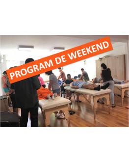 Curs Masaj Somatic PLUS cu program de weekend