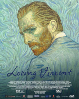 Loving Vincent / Cu drag, Van Gogh ELVIRE POPESCO OUTDOOR