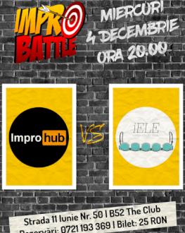 Impro Battle - ImproHub vs. Trupa íELE