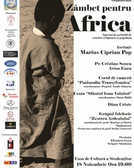 Zâmbet pentru Africa Spectacol caritabil