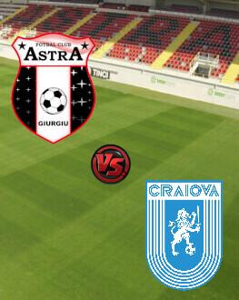 Astra Giurgiu - Universitatea Craiova Etapa 20