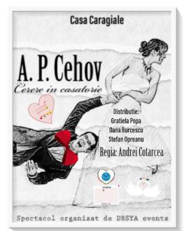 Cerere in casatorie de A. P. Cehov