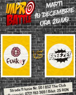 Impro Battle - FunKey vs. Freeze