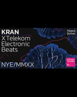 KRAN x Telekom Electronic Beats - NYE MMXX at Palatul Știrbei