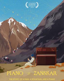 PIANO TO ZANSKAR  / UN PIAN LA ZANSKAR Alpin Film Festival 2020
