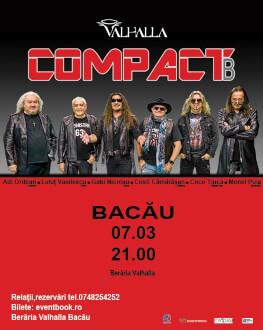 Compact B live la Bacău
