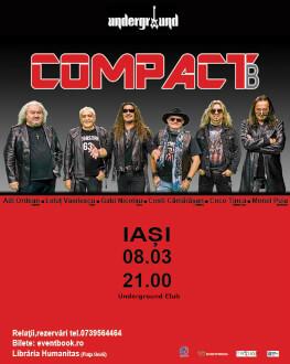 Compact B live la Iași