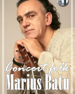 Concert de folk Marius Batu