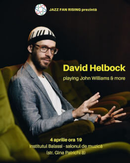 David Helbock la Jazz Fan Rising playing John Williams & more