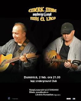 Emeric Imre și Jimi El Laco live la Iași