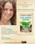 """Lansarea romanului """"Și se auzeau greierii"""" de Corina Sabău. Povestea emoționantă a unei relații eșuate și a unui avort clandestin în comunism"""