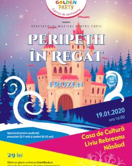 Peripetii in Regat – adaptare dupa povestea Frozen Spectacol muzical pentru copii cu mascote si personaje