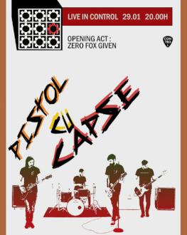 Pistol cu Capse Live Opening act: Zero Fox Given