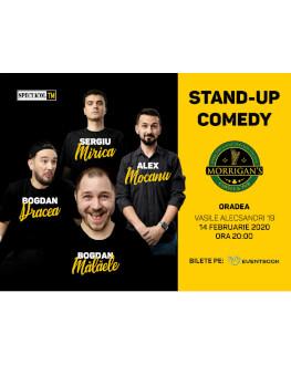 Stand Up comedy // cu Mocanu, Mălăele, Mirică, Drăcea