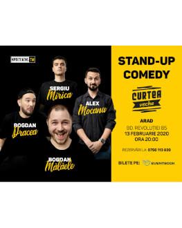 Stand up comedy cu Mocanu, Mălăele, Mirică, Drăcea