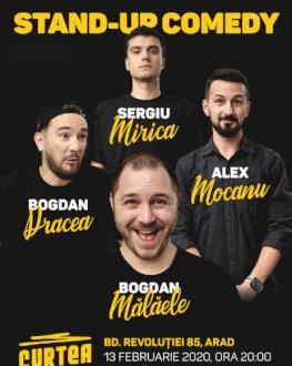 Stand Up 4 Stand Up cu Mocanu, Mălăele, Mirică, Drăcea