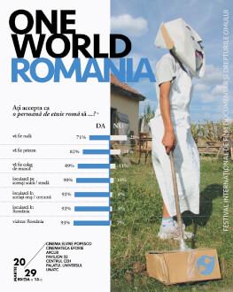 Abonament 5 intrări One World Romania #13 Festival Internațional de Film Documentar și Drepturile Omului