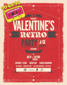 90-60-90 v15.0 - Love Edition Valentine's Retro Party