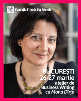 ATELIER DE BUSINESS WRITING CU MONA DÎRȚU