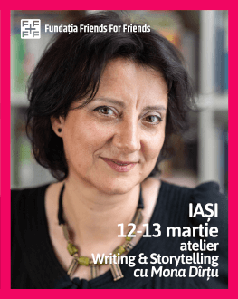 Atelier de Corporate Writing & Storytelling cu Mona Dîrțu