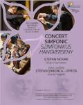 CONCERT SIMFONIC ȘTEFAN NOVAK– dirijor, ȘTEFAN ȘIMONCA OPRIȚA– vioară
