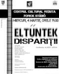 Dispariții / Eltűntek' Elise Wilk