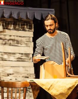 DISTANŢA DINTRE PAŞI Producţie Compania de Teatru Ingenuo
