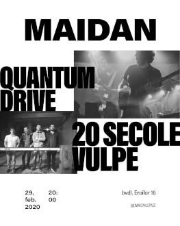 QUANTUM DRIVE & 20 SECOLE VULPE