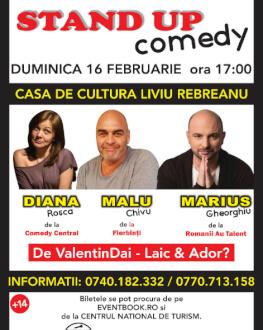 Stand Up Comedy - De ValentinDai - Laic & Ador? Diana Rosca, Malu Chivu, Marius Gheorghiu