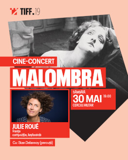 Malombra CINE-CONCERT Accompanied live by Julie Roué
