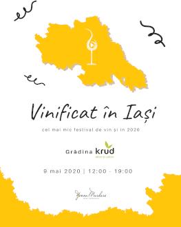 Vinificat în Iași cel mai mic festival de vin și în 2020