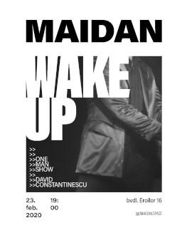 WAKE UP! One-man show cu David Constantinescu