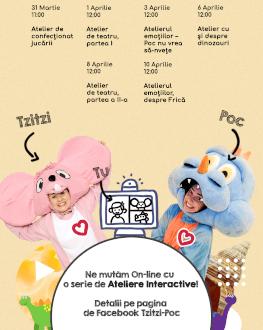 Atelierul emoțiilor-Despre frică cu Tzitzi și Poc Despre frică