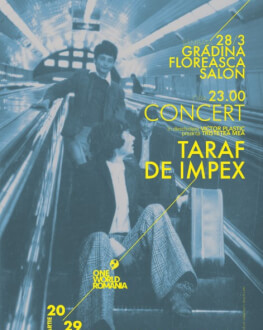 Concert: Taraf de IMPEX Concertul de închidere al One World Romania #13