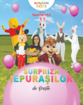 Surpriza Iepurașilor de Paște Spectacol muzical cu mascote și personaje