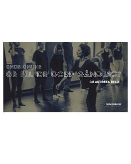 Ce fel de corp gândesc? Mișcare pentru corp Curs online de mișcare și dans contemporan