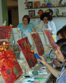 Atelier de pictură pentru adulți, în Cluj