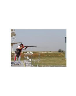 Experienta de tir in poligon de tragere outdoor - pusca cu luneta si pusca cu talere