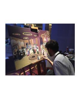Experienta inedita - imortalizeaza evenimentul important din viata ta intr-un tablou