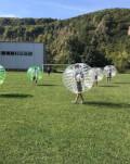 Incearca cea mai noua experienta: Bubble soccer