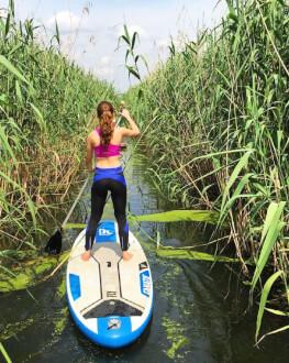 Stand up paddle - vasleste pe placa de surf pe lacul Snagov sau in delta Neajlovului voucher valabil 12 luni de la achiziție Bucuresti