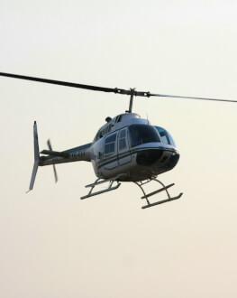 Survol cu elicopterul pentru un iubitor de senzatii extreme