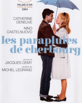 LES PARAPLUIES DE CHERBOURG / UMBRELELE DIN CHERBOURG FOCUS CATHERINE DENEUVE